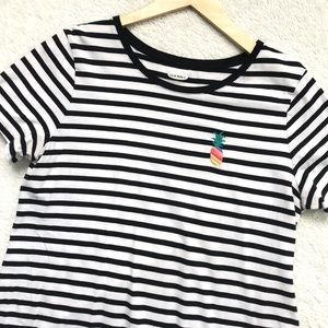 Old Navy | Striped Pineapple Tee